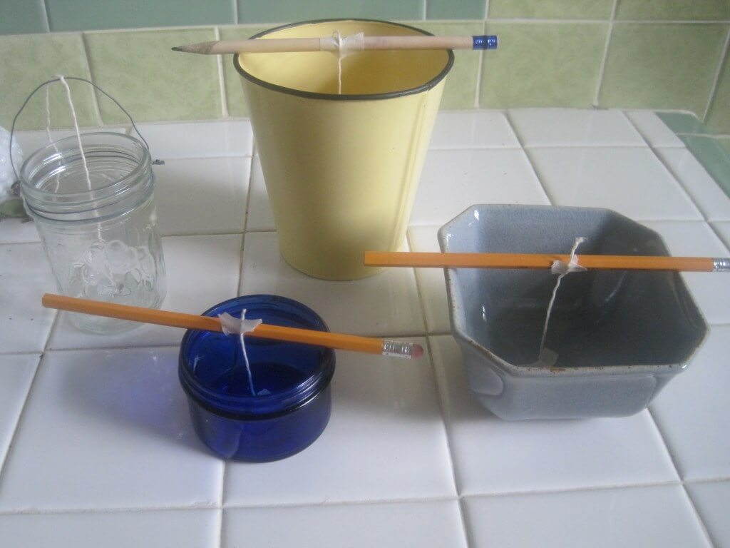 Homemade Candles.